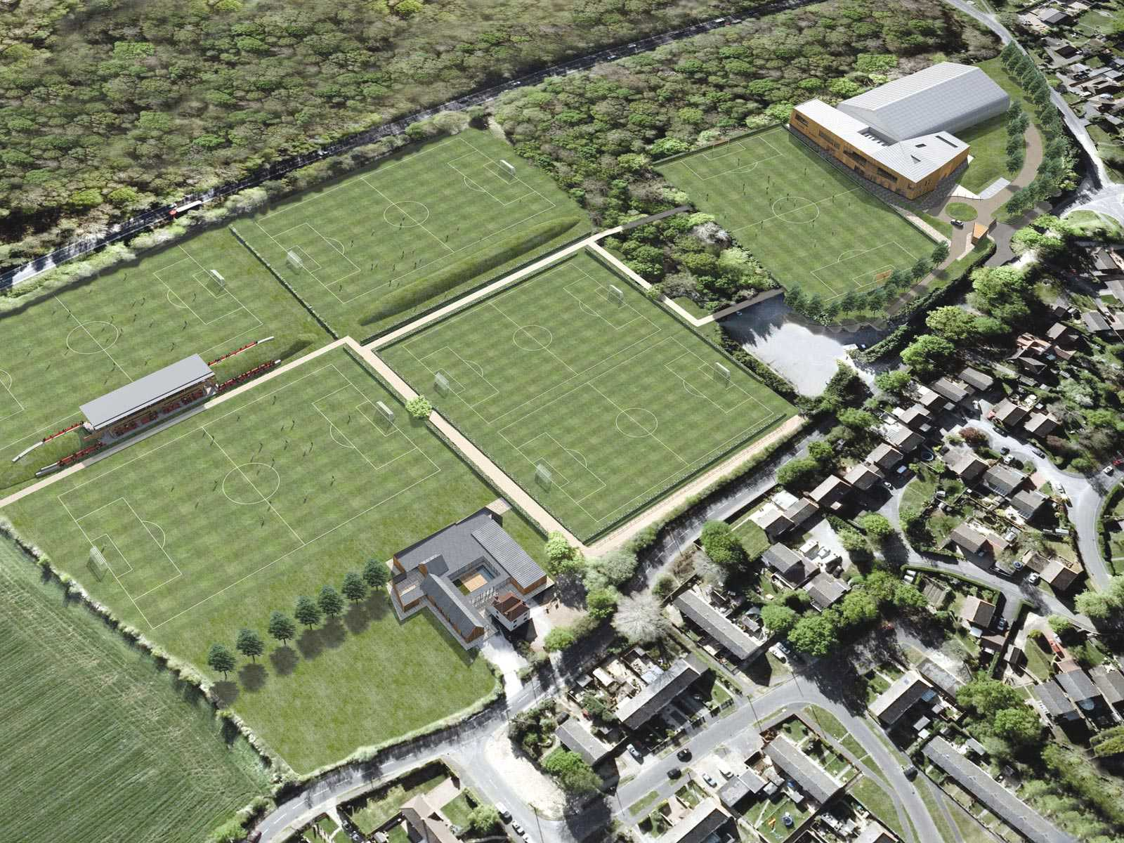 saints training ground