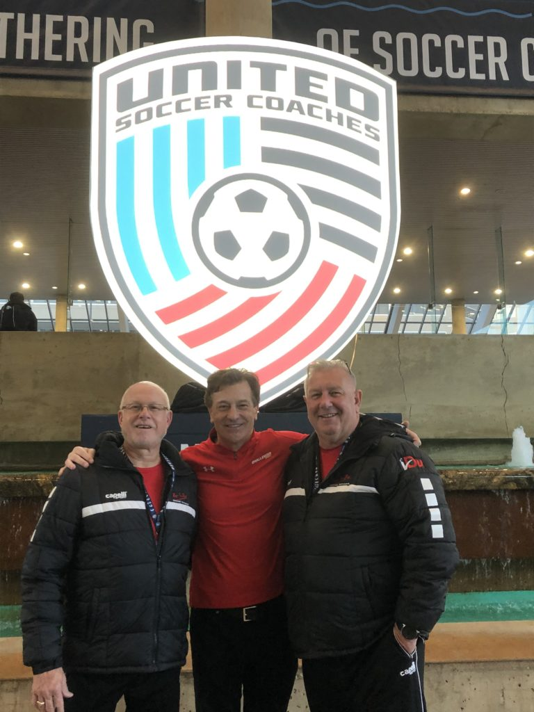 Challenger Sports CEO and Post to Post Representatives